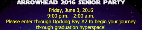 Arrowhead Hosts 2016 Senior Party