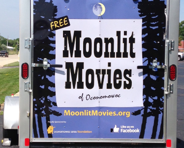 Moonlit Movies Provide Family/Friends with an Inexpensive Night Event