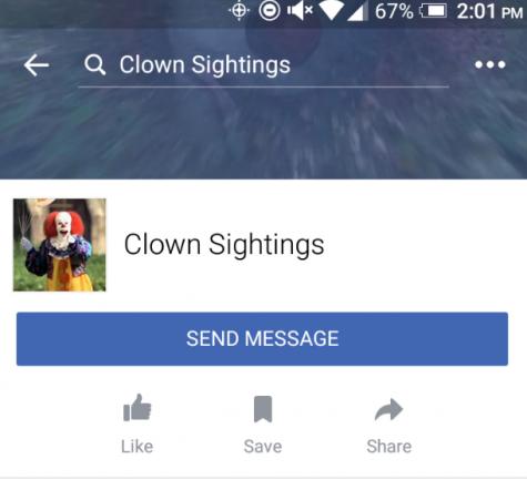 Local Street Clowns Frighten