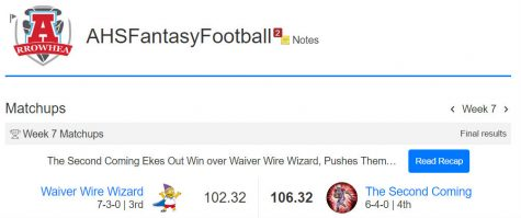 October Fantasy Football Recap