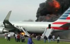 American Airlines Boeing 767 Blows Up on Runway