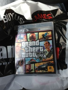 GTA V Launches