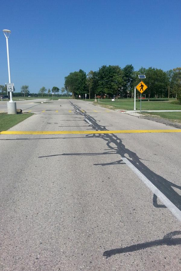 New AHS Speed Bumps Confusing Drivers?