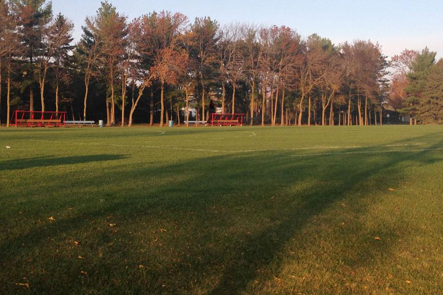 The Field hockey field at Arrowhead where the team had their first playoff victory. The field is located right next to the Mullet.