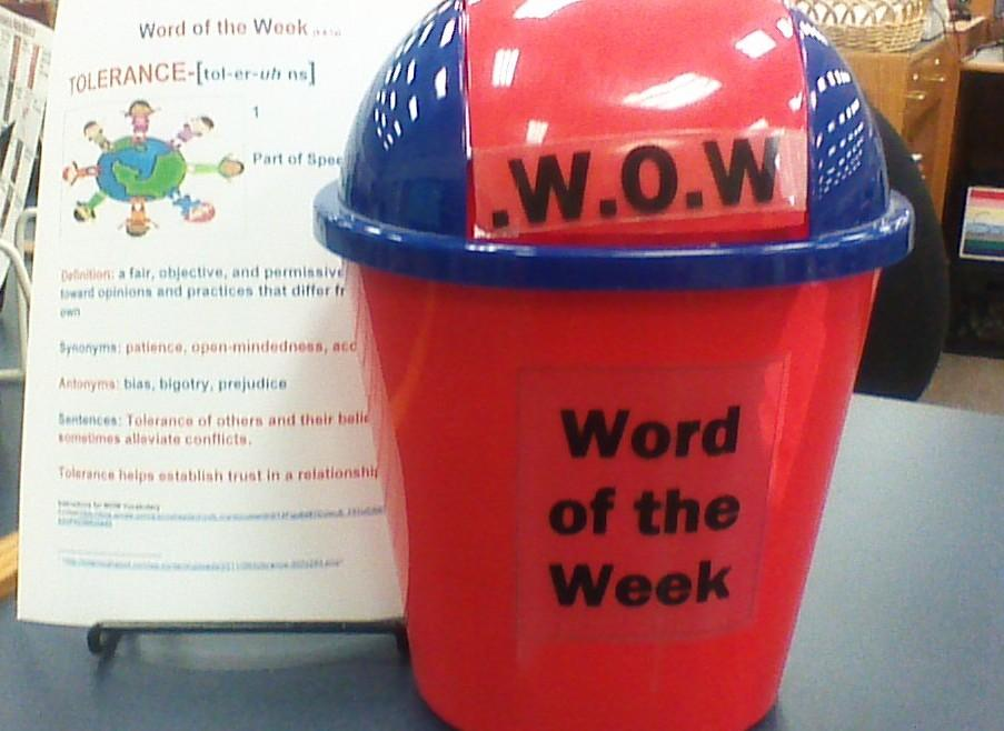 Word of the week is back for another year the arrowhead for Another word for back