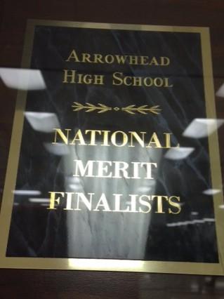 Arrowhead High School Students Achieve National Merit Awards