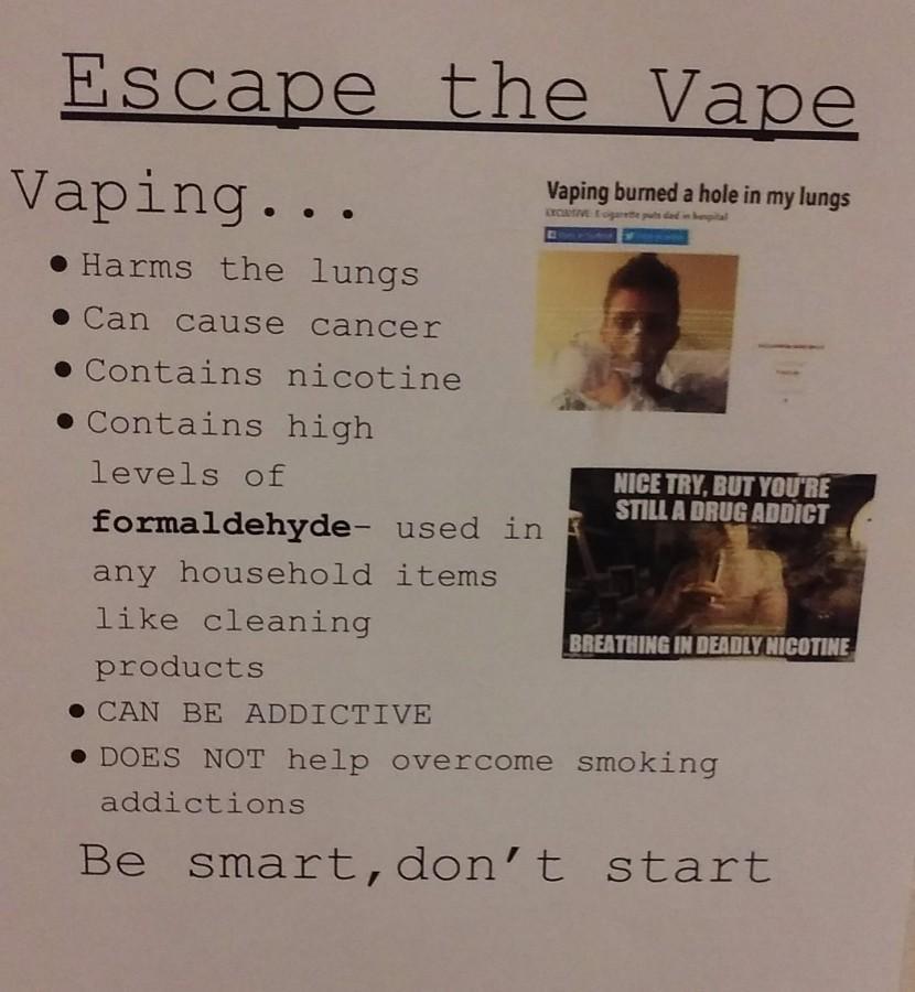 Vaping: Looking through the smoke screen