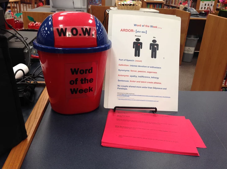"""""""Word of the Week"""" Contest Takes Too Much Time to Enter, Students Say"""
