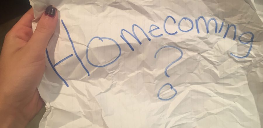 AHS students are getting asked to Homecoming, which is on October 1st at 7:30 pm in the West gym