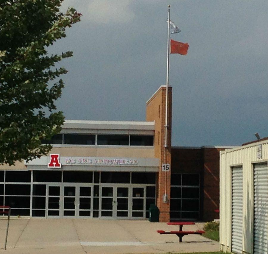 Door 18 at Arrowheads north campus