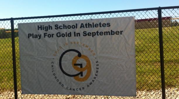 Gold In September Raises Awareness for Childhood Cancer