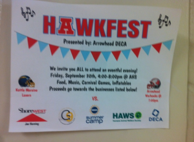 Arrowhead+Hawkfest+Benefits+Gold+in+September