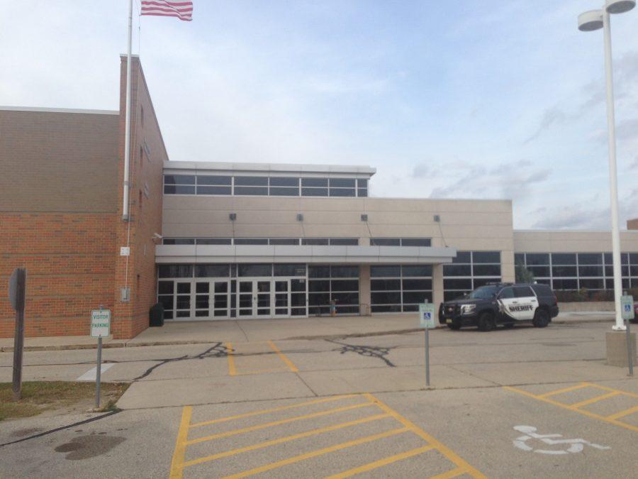 Arrowhead High School north campus front doors