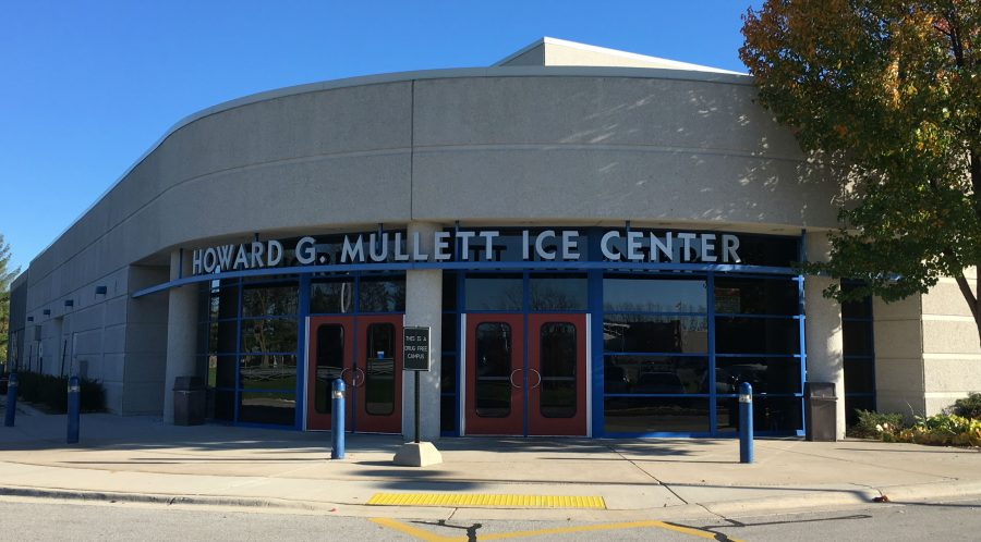 The Mullett Ice Center where the Girls Varsity Hockey Team plays-- located in between Arrowheads North and South campuses.