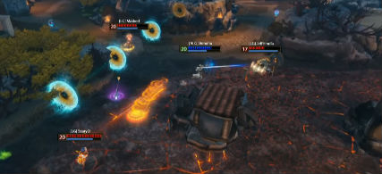 Veneau fights three members of Luminosity