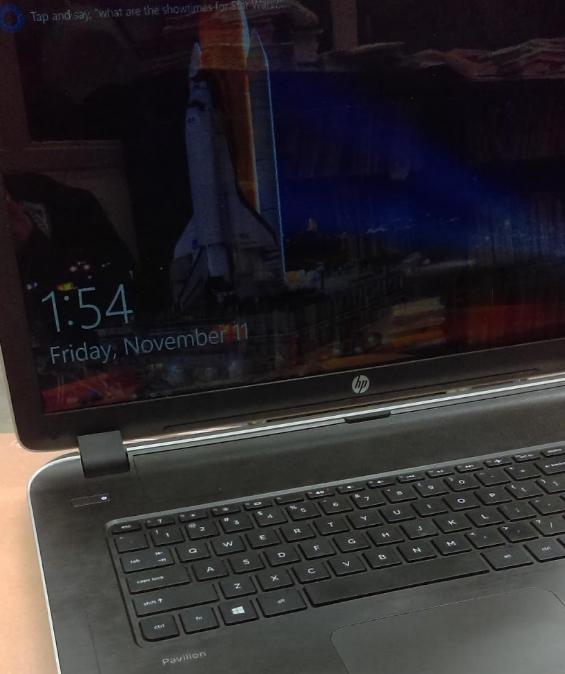 Picture of an HP Laptop.