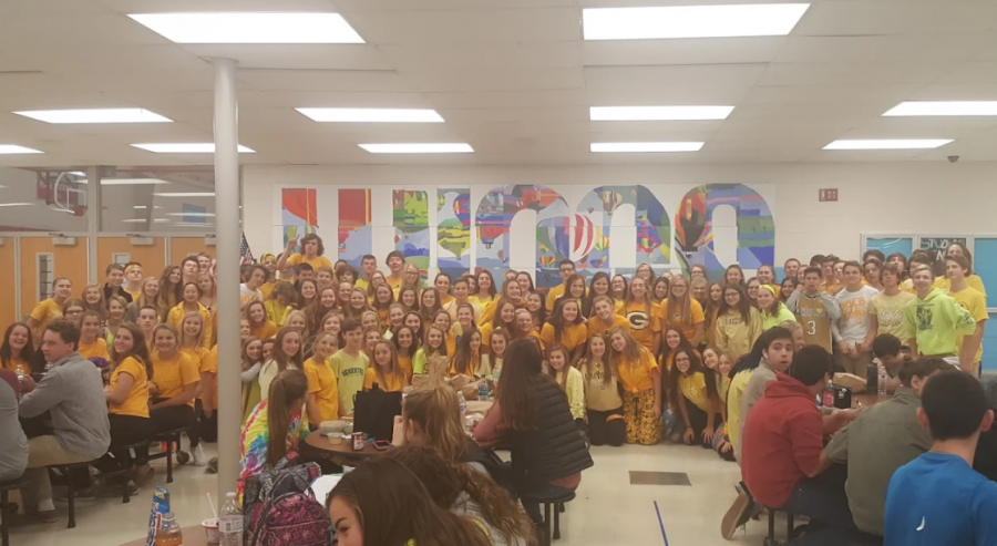 AHS+Students+Wear+Yellow+on+November+10th+in+Remembrance+of+AHS+Student+Katie+Romenesko+After+Losing+Her+Battle+Against+Leukemia+On+Friday.