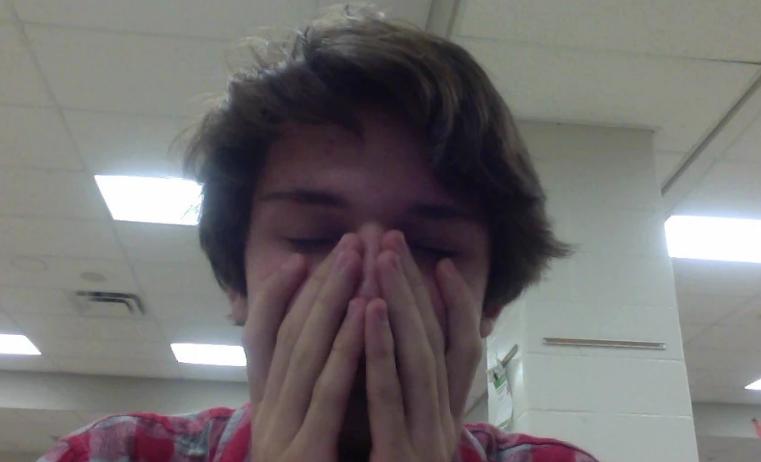A Saddened Arrowhead Sophomore.