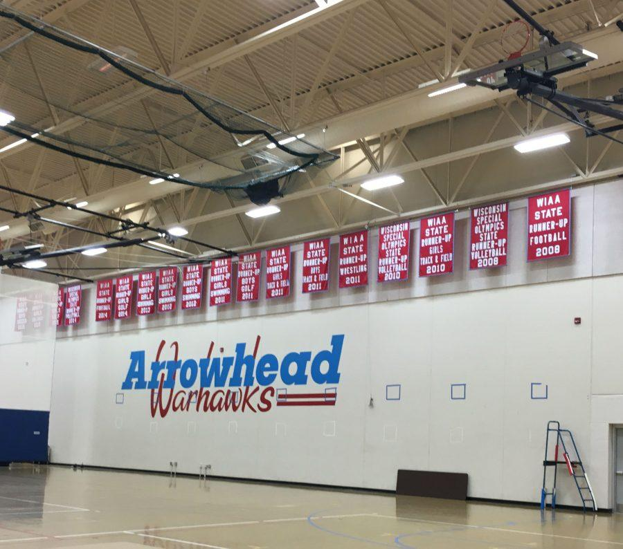 North Campus Gym that hosts most of the intramural basketball games.