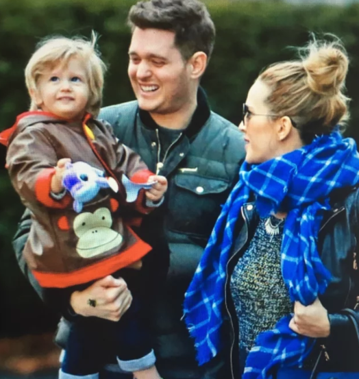 Michael Buble's Son Diagnosed With Cancer