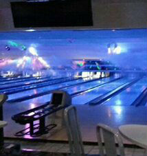 Picture of Sussex bowl during the glow bowl events.