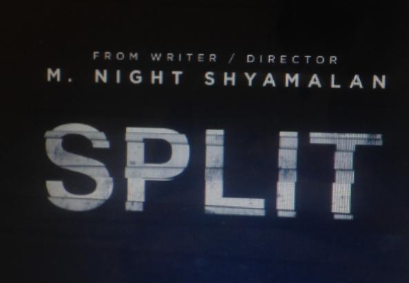 Teaser poster for the current highest grossing domestic film of 2017: M. Night Shyamalans Split.
