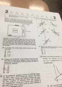 Mathematics ACT preperation test.