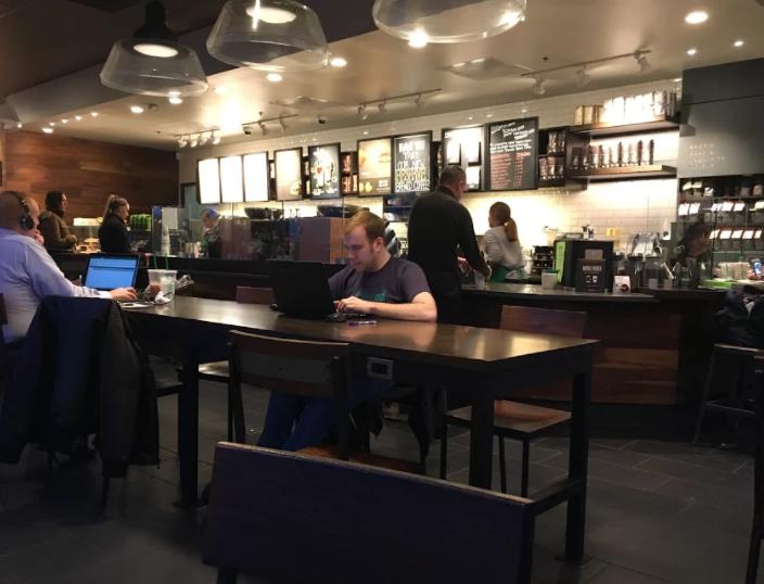 Starbucks in Delafield Wisconsin