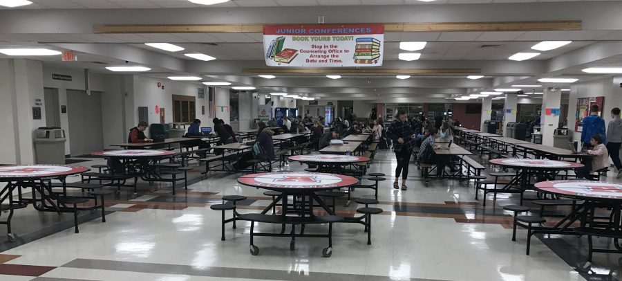 North Campus Cafeteria, where the Quiz Bowl will be hosted this year.