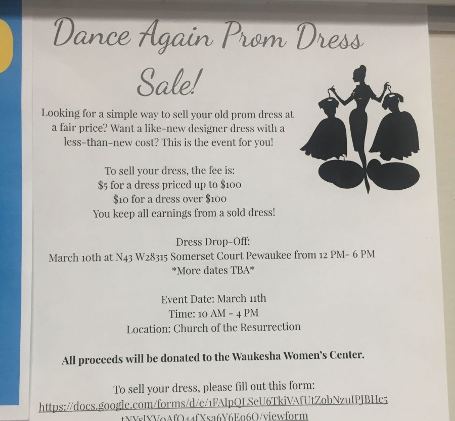 Now that prom season is here, the Arrowhead National Honors Society will be holding a dress sale for students to sell and purchase used dresses.