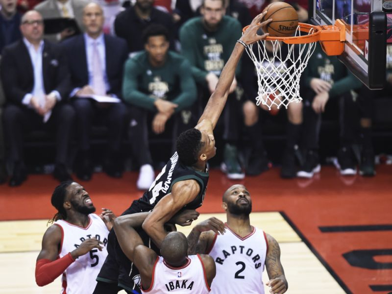 NBA Playoffs: Bucks vs Raptors Game One Recap