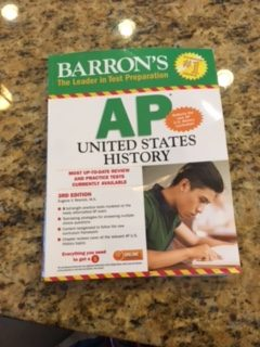 The AP US History book students use.