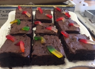 Brownies that bakers at Great Harvest bake.