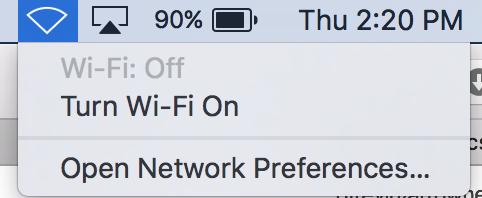 No WiFi at AHS