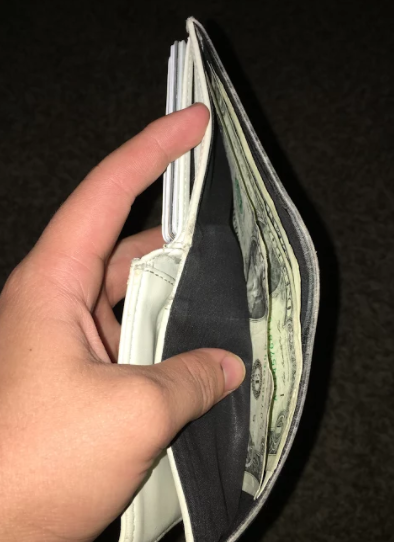 A students wallet.