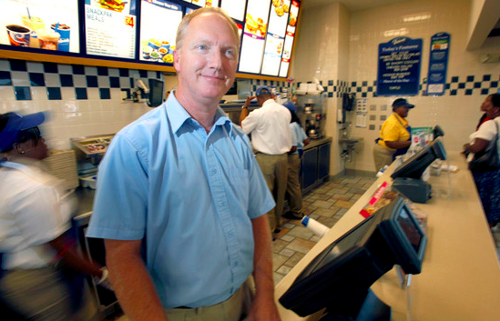 Greg Howe, the owner of the Culver's in Hartland.