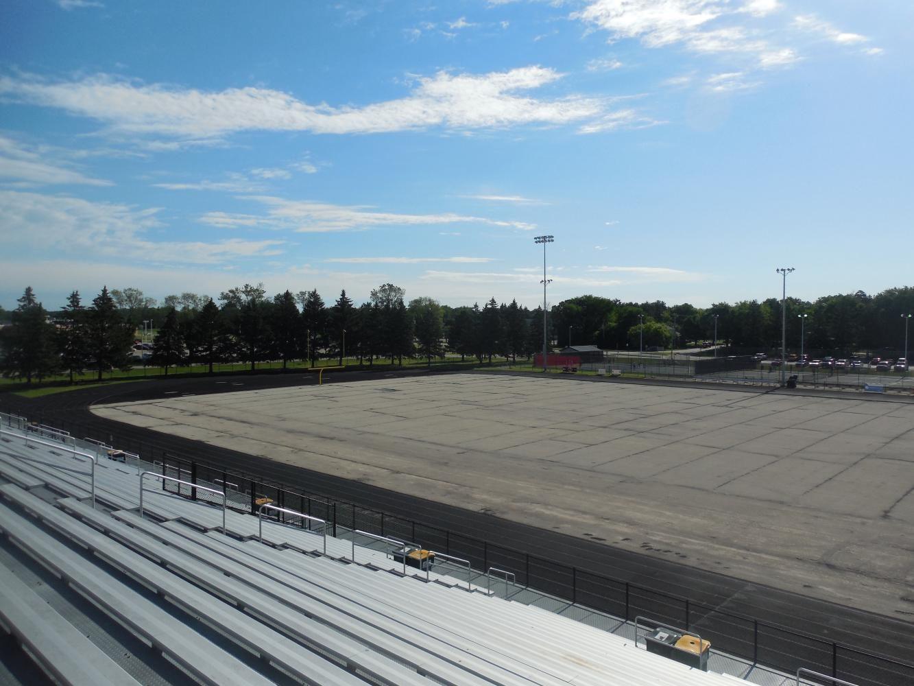 Arrowhead Replaces Field Turf on the Football Stadium