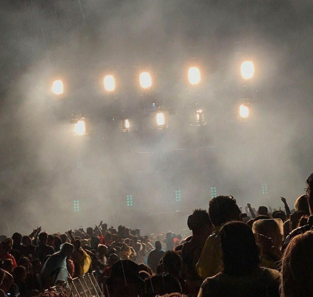 First Day of Summerfest brings rain, heavy downpour