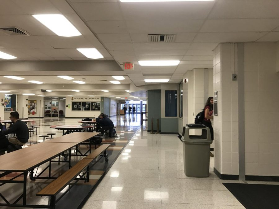 The closed doors of Arrowhead's lunch