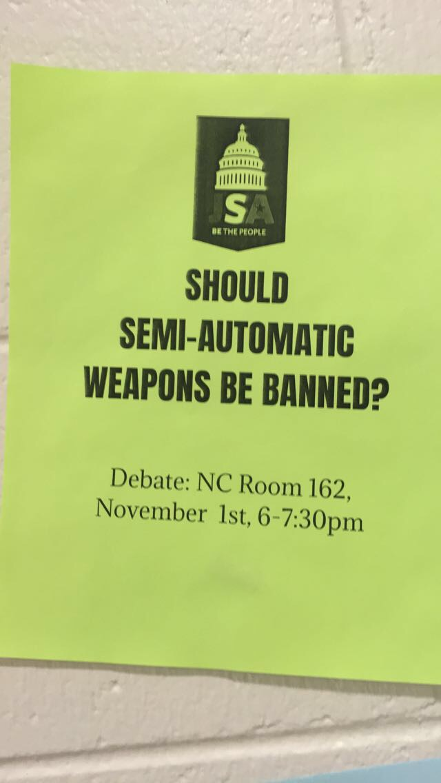 This is a poster for the meeting this past November 1st, 2017. The next meeting is November 15th, 2017.
