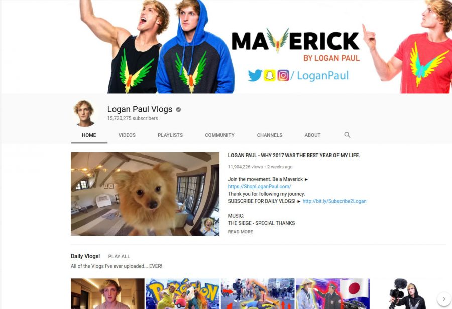 Logan Paul Receives Heavy Backlash After Posting Insensitive Content
