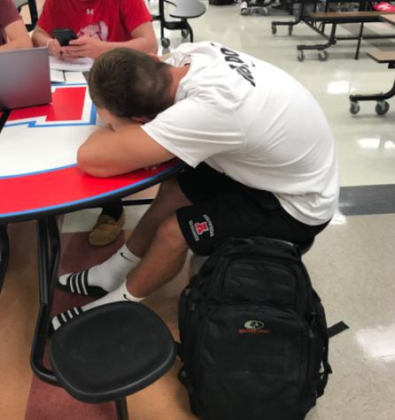 Students Prepare for Semester Exams