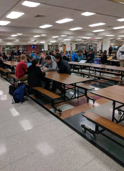 Fourth hour senior study hall