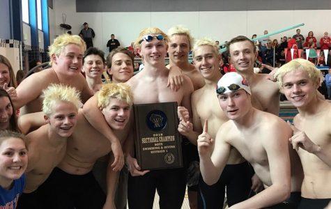 Arrowhead Boys Swim Team Headed off to State