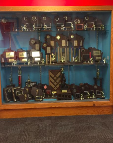 Arrowhead trophy case.
