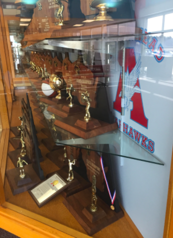 Arrowhead Trophy Case.