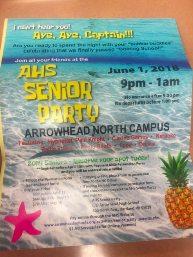Arrowhead Students Excited for Senior Party