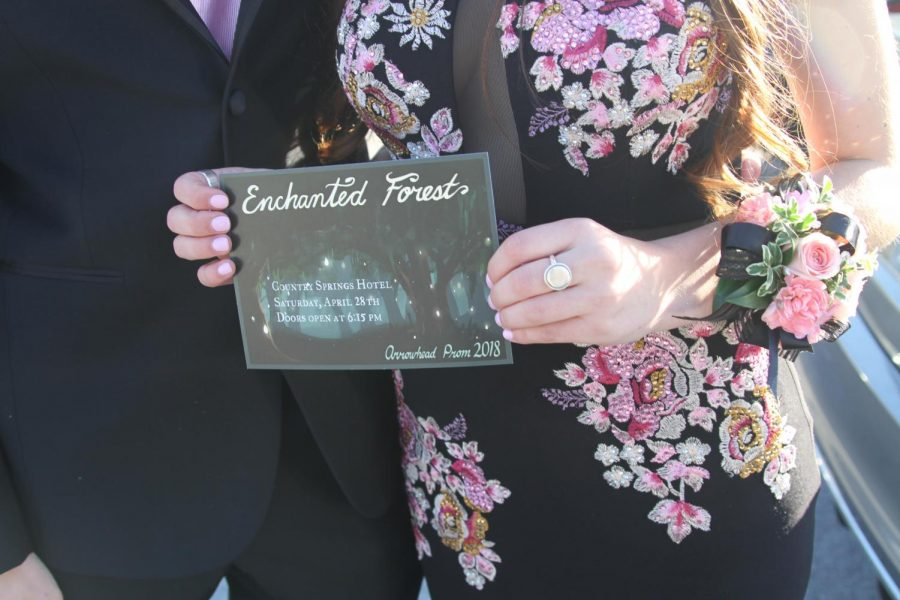 Enchanted Forest prom ticket, taken by Teresa Artone