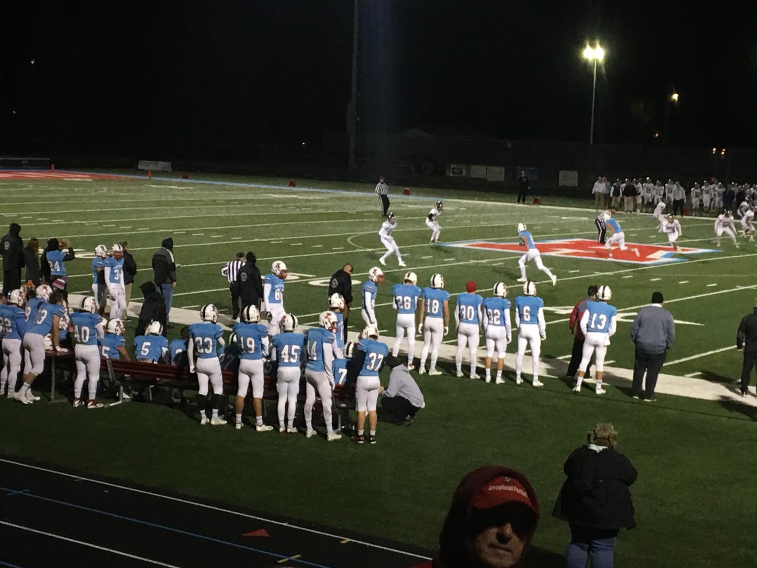 Arrowhead Football game 10/12 against Waukesha North
