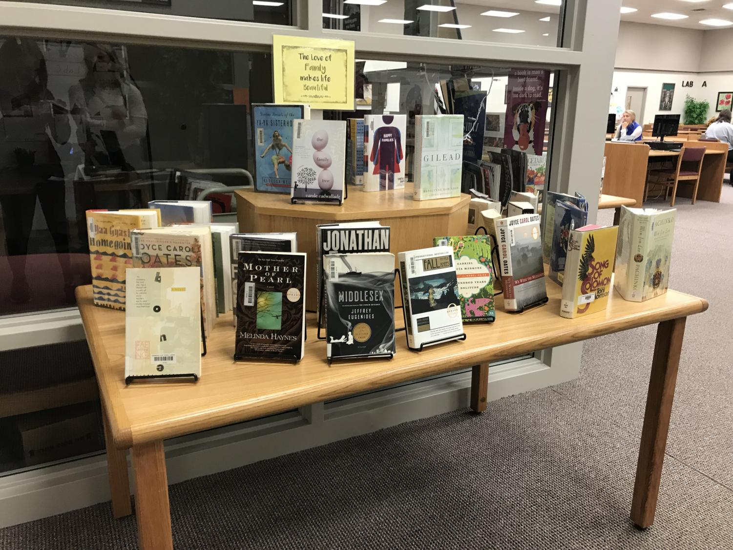 The Arrowhead libraries have a large collection of books for students to choose from.